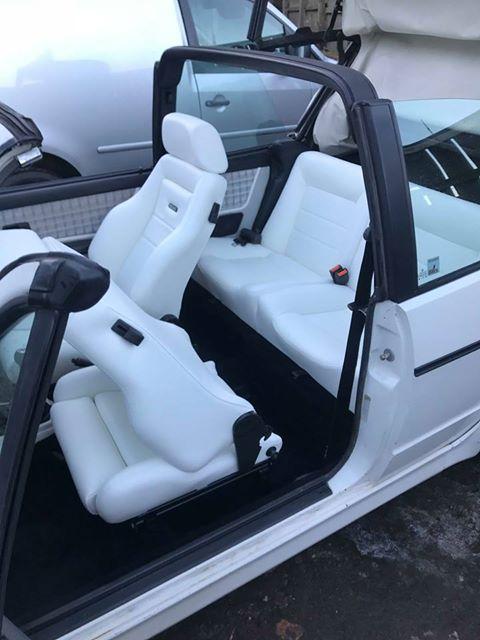 Vw Golf Mk1 Cabriolet Recaro Ls Upgrade